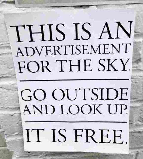 A billboard #letmesay