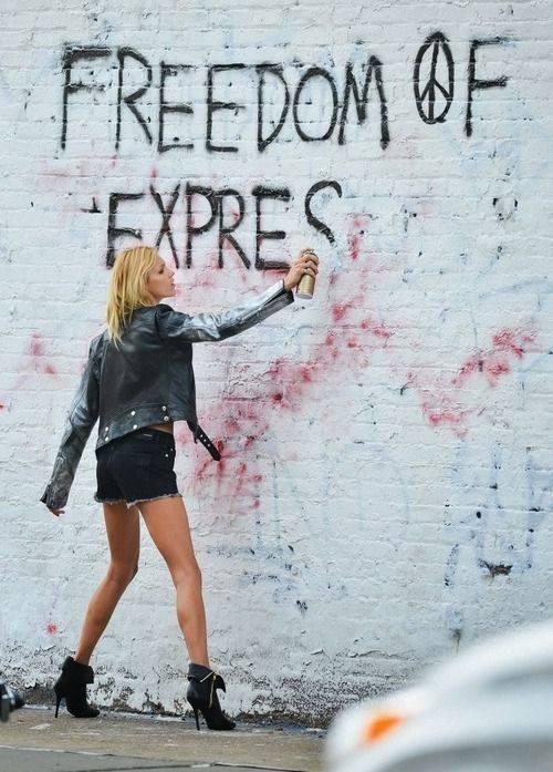 Let's vandalize #letmesay